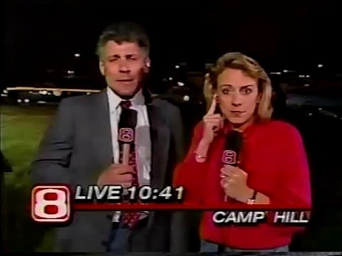 WGAL 8 Lancaster PA 1989 Camp Hill Riot