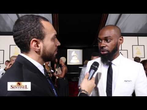 Mali Music interview at the 57th Grammy Awards