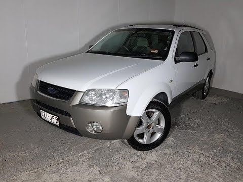 (SOLD) Automatic SUV Ford Territory 2005 Review