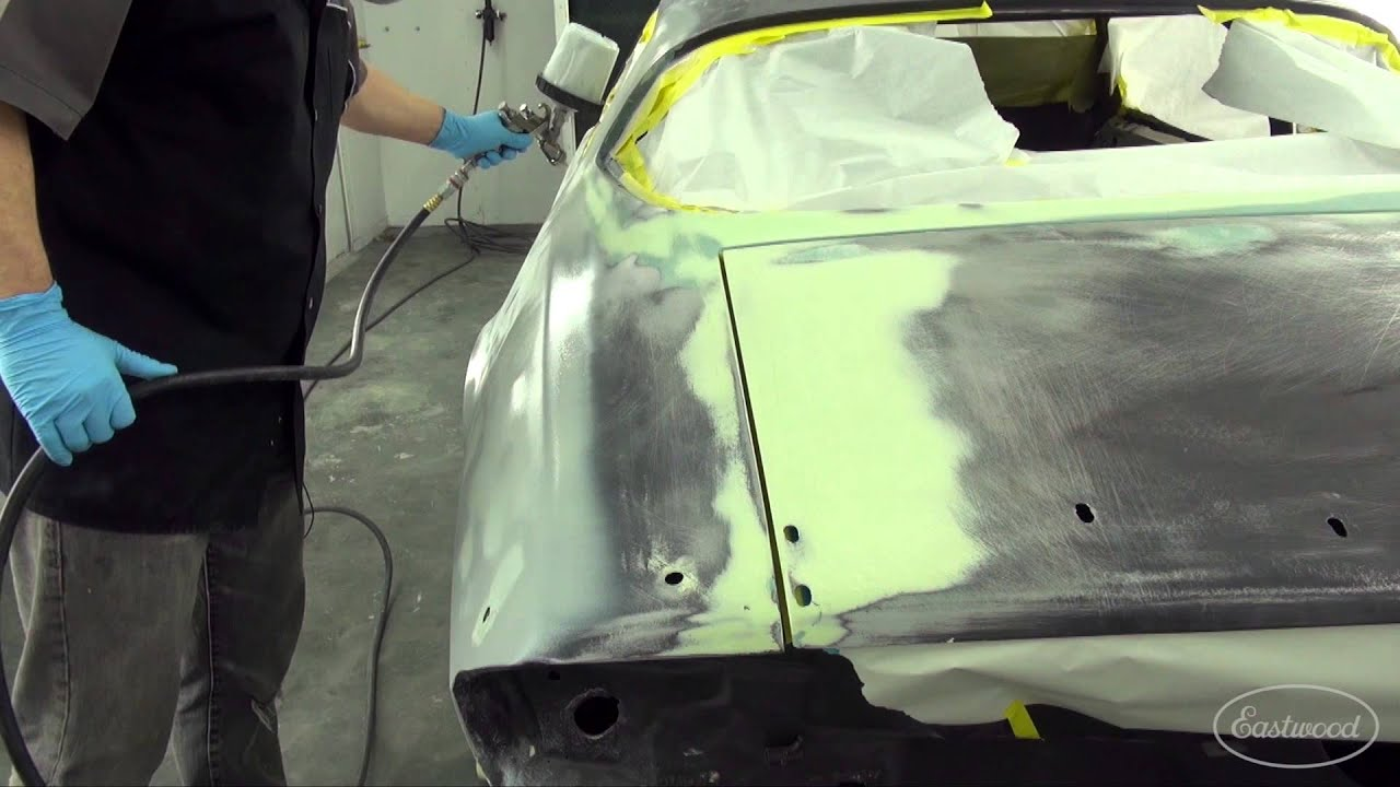 How to Get Straight Body Panels - Contour Polyester Primer-Surfacer from  Eastwood
