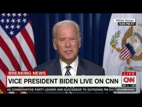 "Biden: Ferguson Police Department ""Was Racist"""