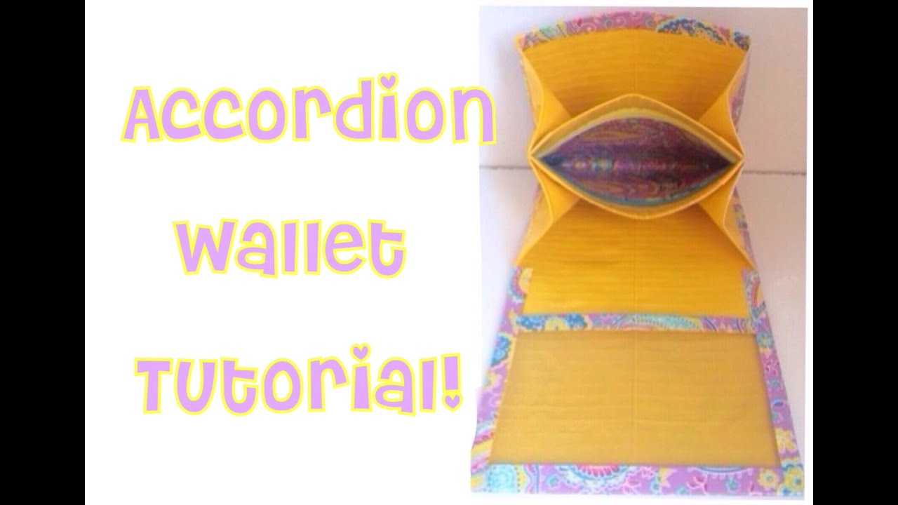 How To Make A Duct Tape Accordion Wallet Youtube