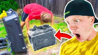 Whats REALLY inside the abandoned safe?!
