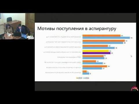 Российская аспирантура в поисках идеальной модели — семинар 28.01.2020