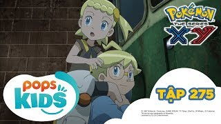 Pokémon Tập 275 - Đoàn Tàu Kí Ức! Shitoron Và Horubi! - Hoạt Hình Pokémon Tiếng Việt S18 XY