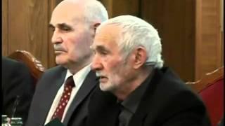Речь Иссы Кодзоева на встрече с Юнус-Беком Евкуровым