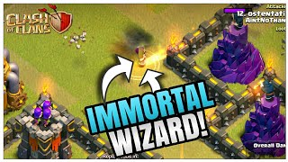 The IMMORTAL WIZARD | Most Amusing TH-9 War Attack | Must Watch | Clash of Clans