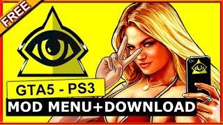 GTA 5 PS3 MOD MENU + FREE DOWNLOAD 2017 RP+MONEY