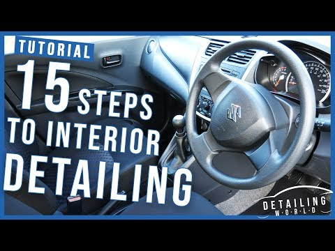 15 Steps on Interior Detailing Your Car: A Beginners Guide