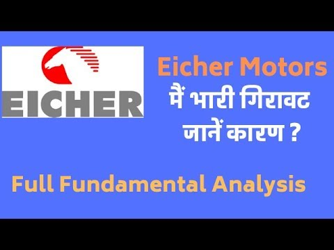 eicher motors में क्या हुआ I eicher motors share price fall I Full Fundamental Analysis- Hindi