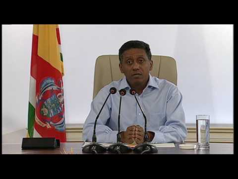 SBC SEYCHELLES - Live Presidential Press Conference - 15 May 2017