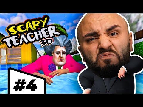 ÖĞRETMENE KOKU BOMBASI ŞAKASI YAPTIM!! Bölüm #4 Scary Teacher