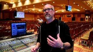 Mixing Garbage Live with FOH Brad Divens