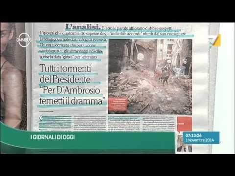 Omnibus - Rassegna stampa (Puntata 01/11/2014)