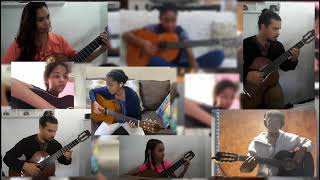 You Raise Me Up (QUARANTINE EDITION) - Seth Escalante with Classical Guitar Ensemble