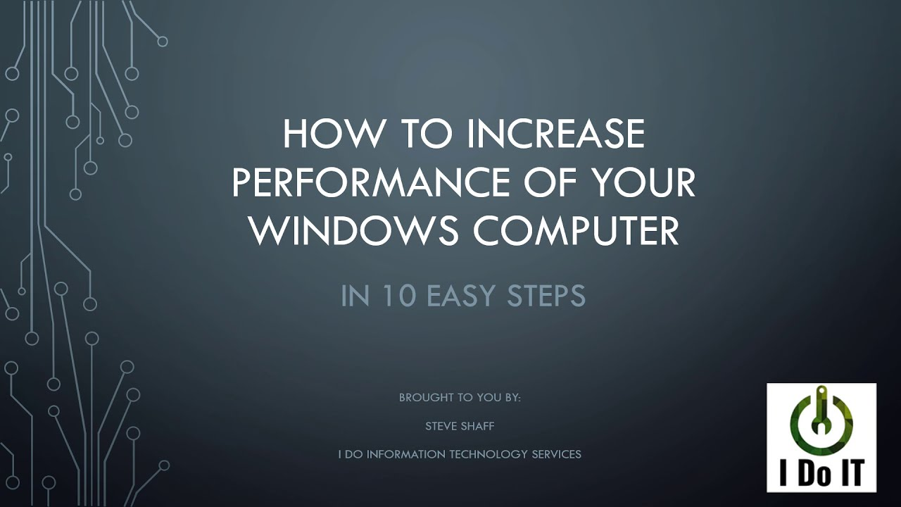 Why is my computer running so SLOW??!!??