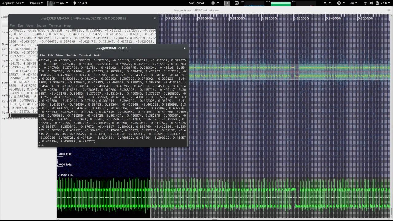 Rolling code keyfob FSK decode+replay test