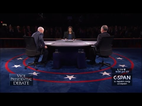 Vice Presidential Debate - October 4 2016