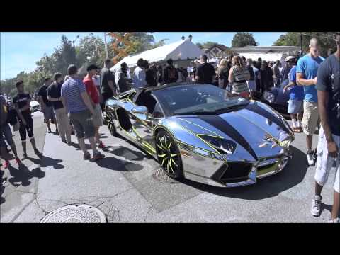 Glen Cove Car Show 2010 Gathering Youtube