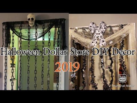 Halloween Dollar Tree DIY Decor