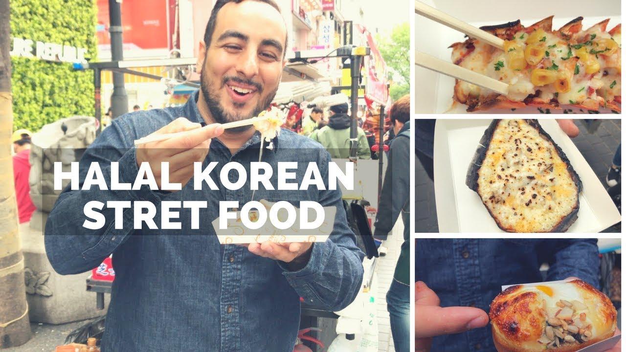 Insane Halal Korean Street Food Tour In Seoul Huge Street Food Tour Of Myeongdang Korean Bbq Youtube