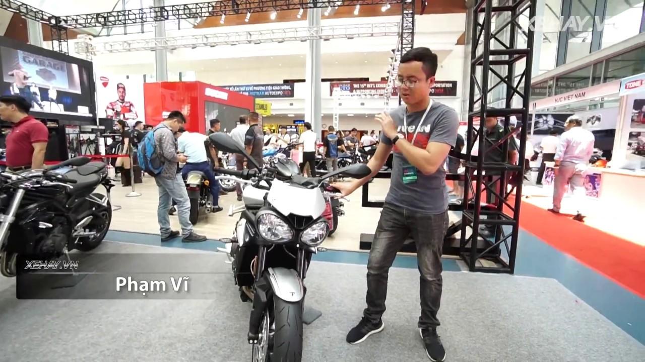 Triumph Speed Triple R giá hơn 600 triệu - siêu cá tính |XEHAY.VN|
