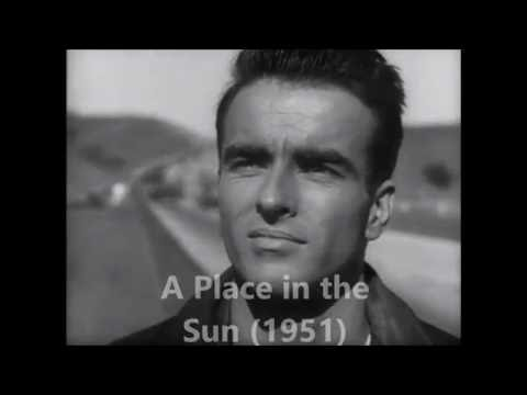 A Place in the Sun (1951)    Montgomery Clift, Opening Scene.  HD