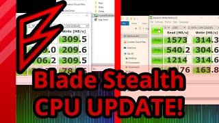 Razer Blade Stealth CPU Benchmarks FIXED!