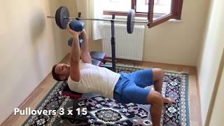 Evde 2 Dumbella Tüm Vücut Çalışma Programı ( Two Dumbell For Home All Body Training )