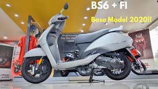 New TVS Jupiter Base Model BS6 Fi 2020!! Matte Grey |  Whats New?? Detailed Review