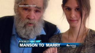 WEBCAST: Charles Manson Gets Marriage License