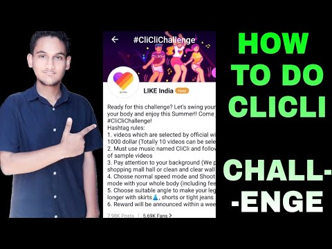 Download How to do clicli challenge on like app   TUTORIAL