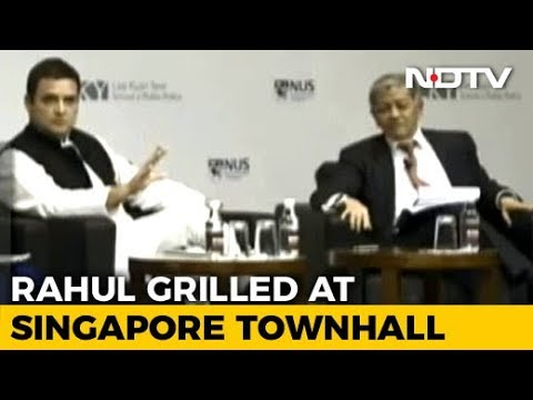 Rahul Gandhi, Grilled In Singapore, Says: 'You Wouldn't Dare With PM Modi'