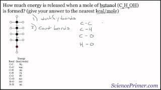 Covalent Bond Energy Example
