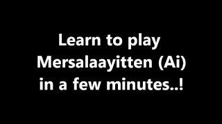 Mersalaayitten (Ai) - Keyboard notes