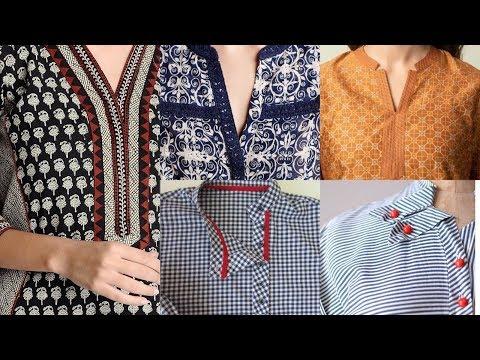 Most Trendy & Most Populer Overlap Placket / Kurta Patti Designs Ideas / Neckline Designs