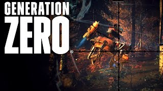 Generation Zero #06 | Von Drohne verfolgt | Gameplay German Deutsch thumbnail