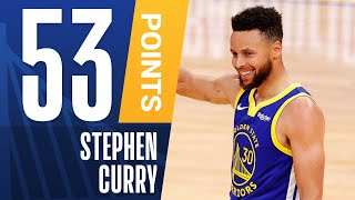 Steph Curry Posts 53 PTS on HISTORIC Night! 🔥