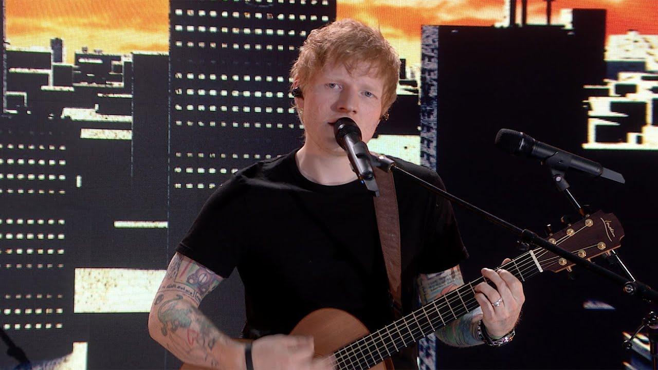 Ed Sheeran - Bad Habits [Live at TikTok UEFA EURO 2020]