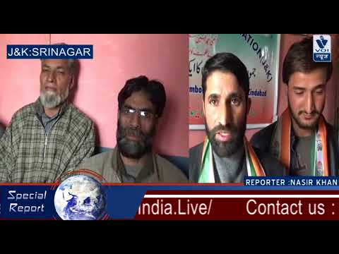 Scores of persons came from Budgam join Rahul Gandhi Fans Association in Srinagar