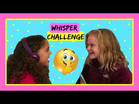 Whisper Challenge with Always Arden