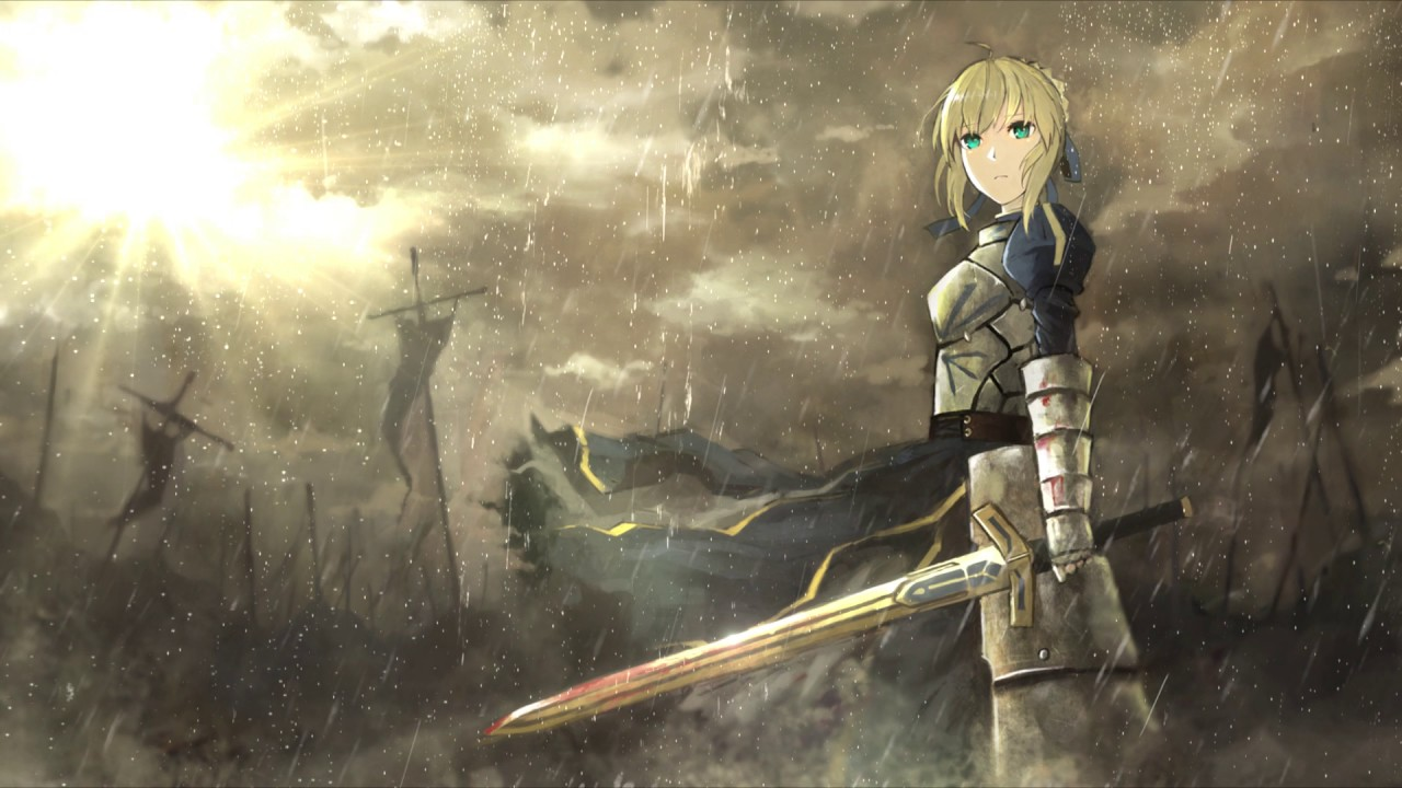 Wallpaper Engine Fate Zero Saber