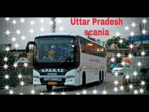 North India's SCANIA | Uttar Pradesh Roadways(UPSRTC) SCANIA coming