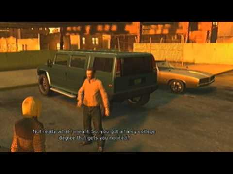 GTA 4 Alex And Dwayne Strip Club