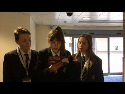 BBC School Report 2017 - The Haunted Kingfisher Shopping Centre