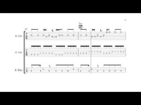 Mega Man 3 (NES) - Snake Man - Guitar/Bass Tabs + Chords