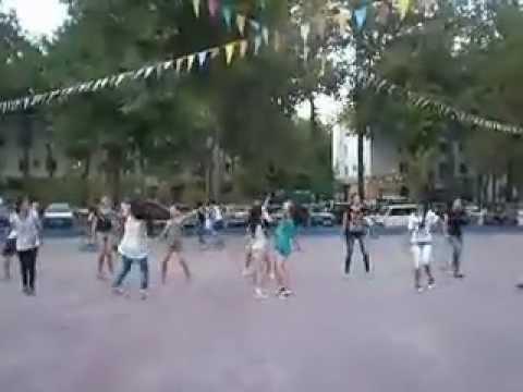 K-Pop Flashmob in Shymkent by K-Time