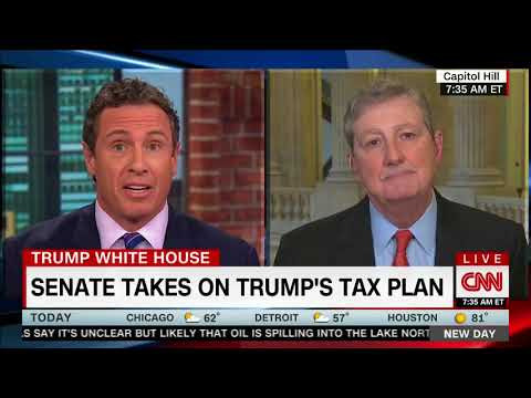 Sen. John Kennedy -CNN Tax
