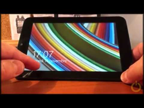 How to do a Soft Reset on a WinBook TW100 Tablet | FunnyDog TV