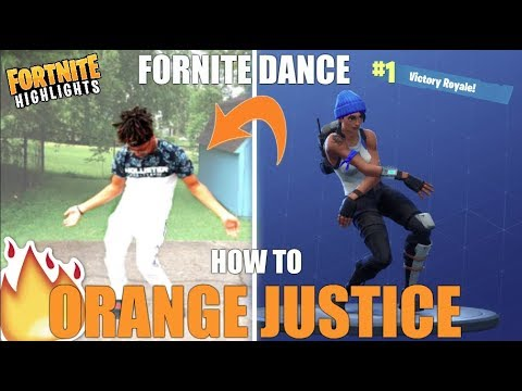 How To Orange Justice Dance Tutorial Fortnite Dance Tutorial
